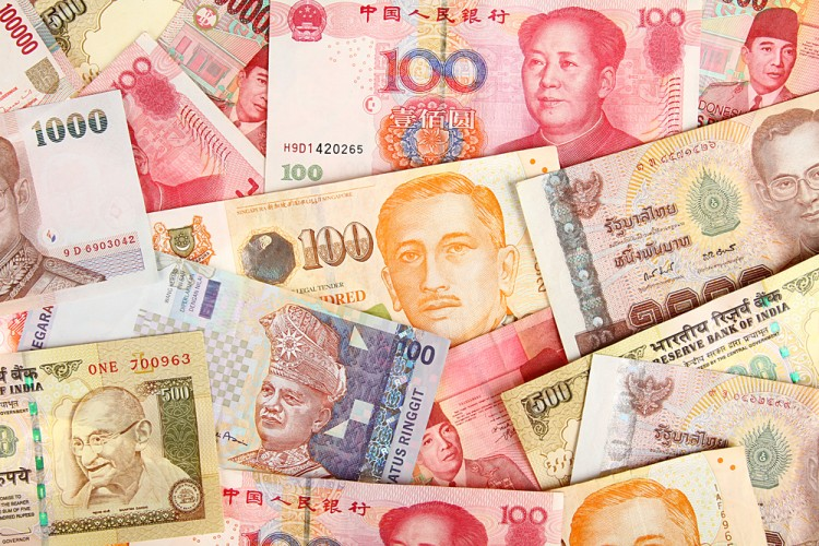DarcMatter - Asian Currencies (shutterstock)