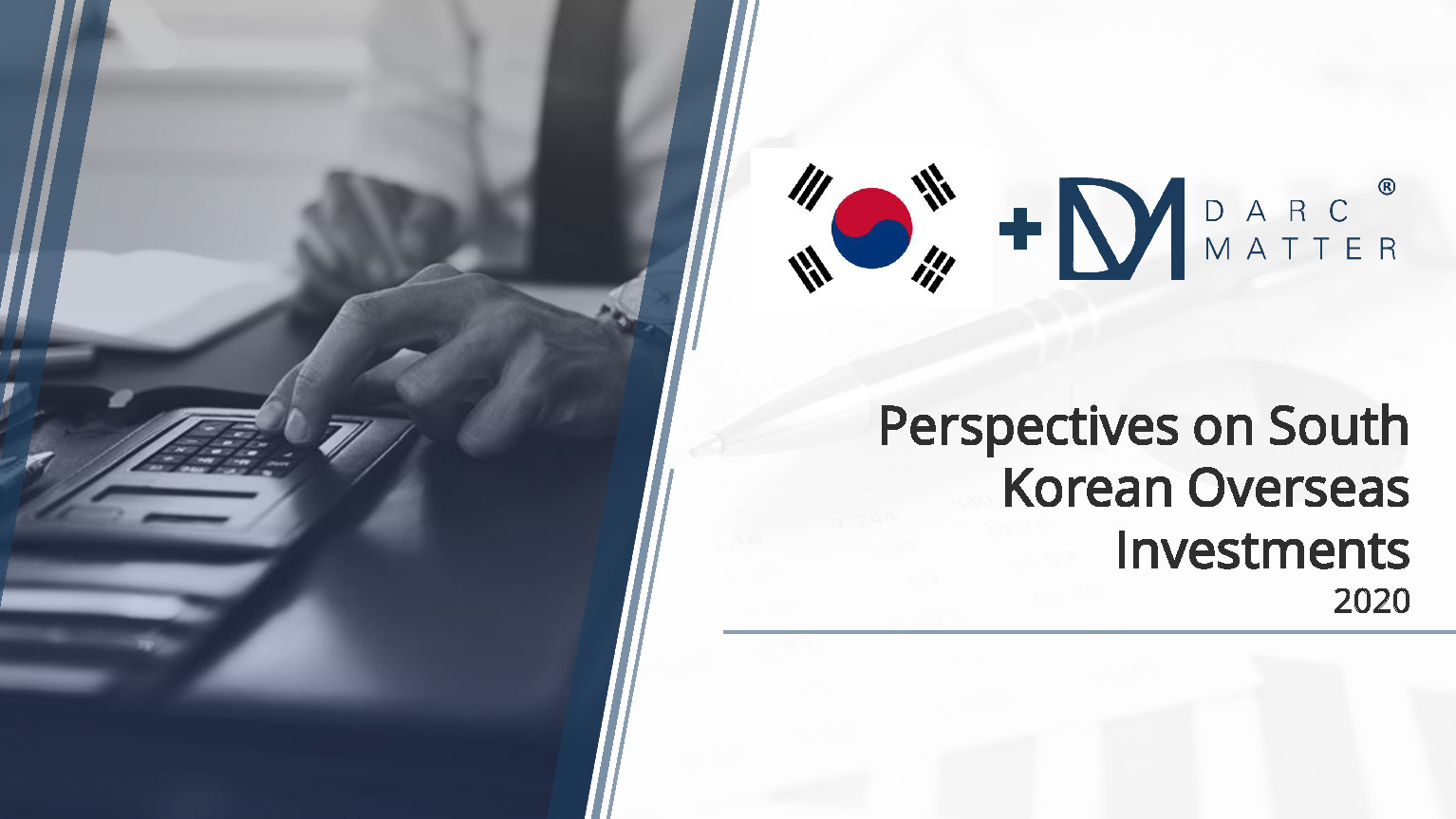 DarcMatter - Perspectives on South Korean Overseas Investments 2020